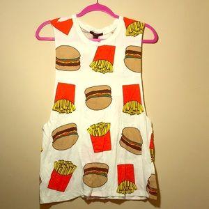 Fast Food Muscle Tee